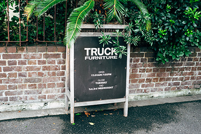 Truck Furniture, Osaka, Japan