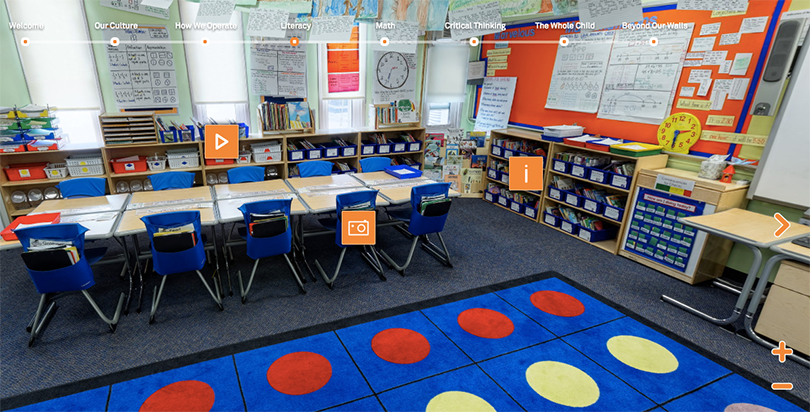 Innovative Classroom Approach : Success academy s virtual tour open doors to its