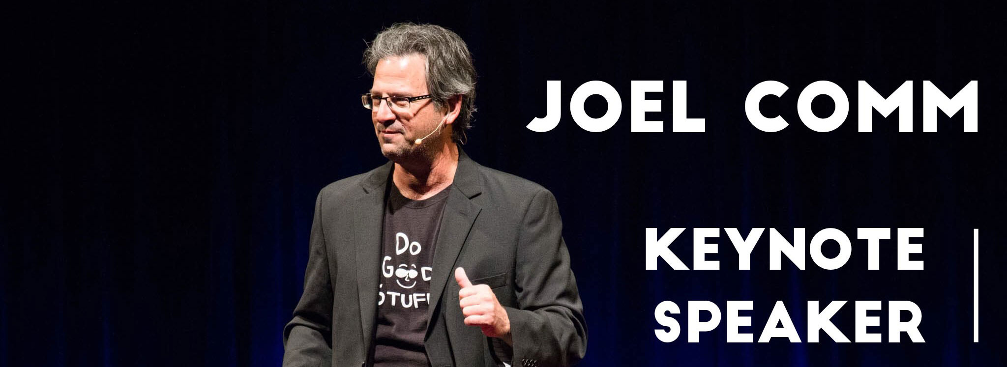 Joel Comm - Keynote Speaker at #aoc2018