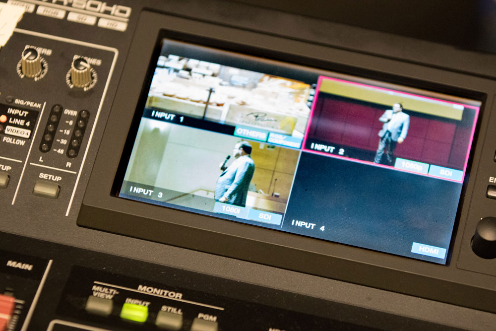 Multi-camera, high quality video recordings of Agents of Change