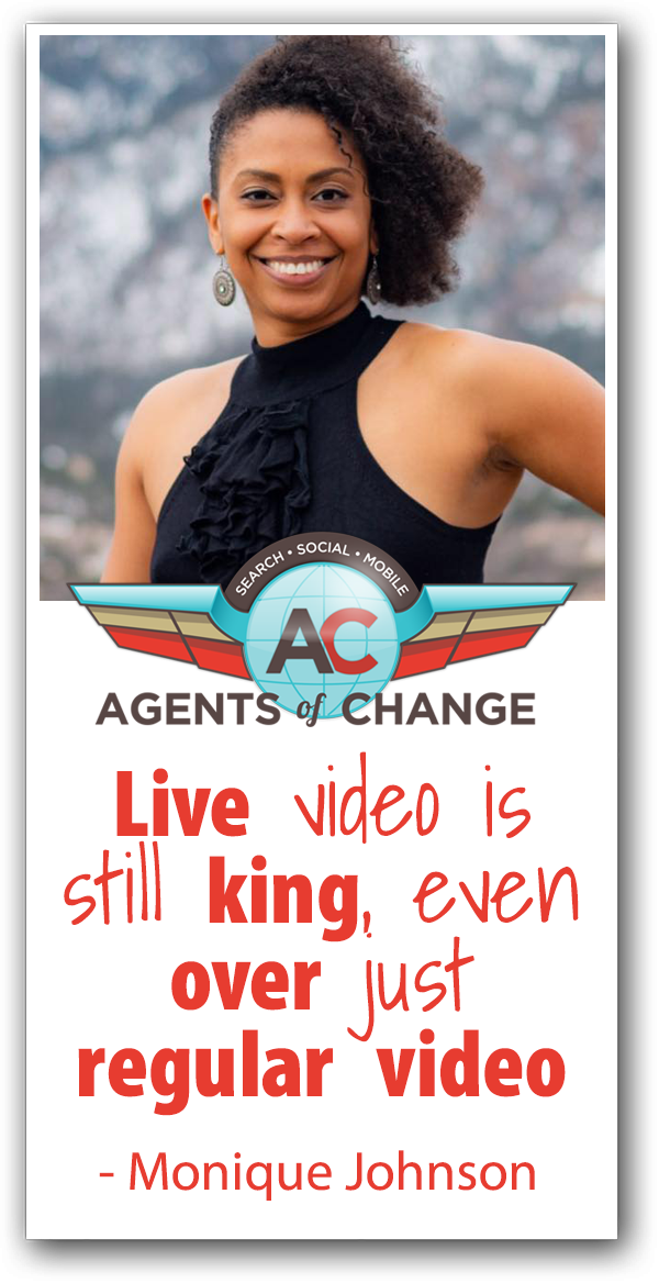 How to Generate Leads and Sales with Live Video - Monique Johnson