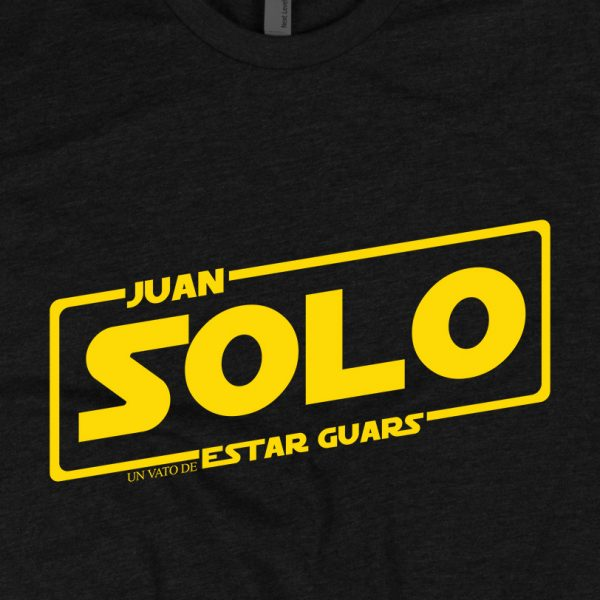 - American Czar - Funny take on a classic.  Rock the brand new Juan Solo ' Un Vato de Estar Guars' Shirt!  With a 65-35 blended fabric, this Next Level Apparel shirt doesn't get any softer. <em>This t-shirt runs a little small, so consider going up a size if you don't like a snug shirt.</em>