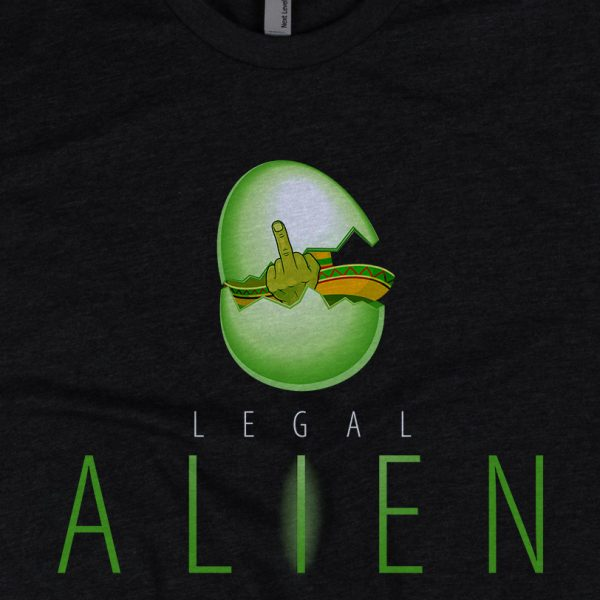- American Czar - <p>Let em know your legally on this planet Awesome parody of the Aliens Poster from the incredible scifi movie. Nuf Said.</p>
