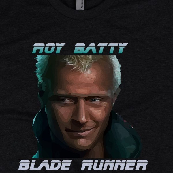 "- American Czar - <p>Blade Runner <span class=""module__title__link"">Rutger Hauer/ Roy Batty Tee</span>. With a 60-40 blended fabric, this Next Level Apparel shirt doesn't get any softer. </p>"