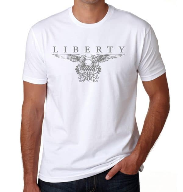 - American Czar - Celebrate the USA with this beautiful Liberty Tee.