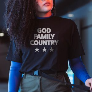 God Family Country - Priorities T-Shirt