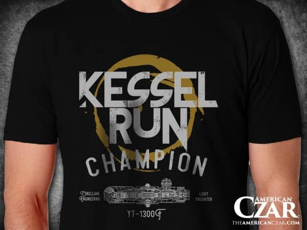 Star Wars Kessel Run Champion T-Shirt