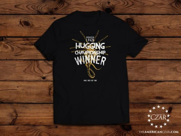 - American Czar - Make Hugs, not War!