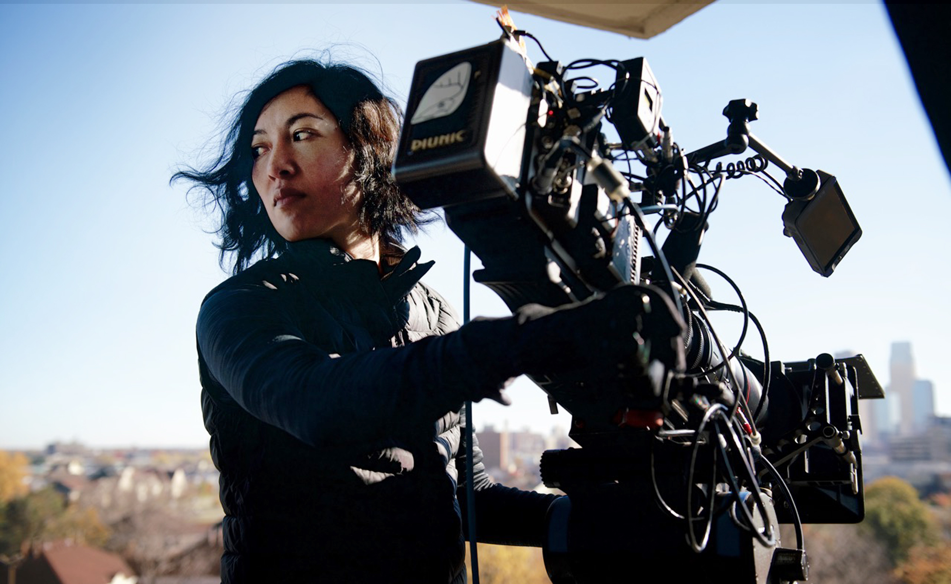 Quyen Tran at work on Mogadishu, Minnesota.