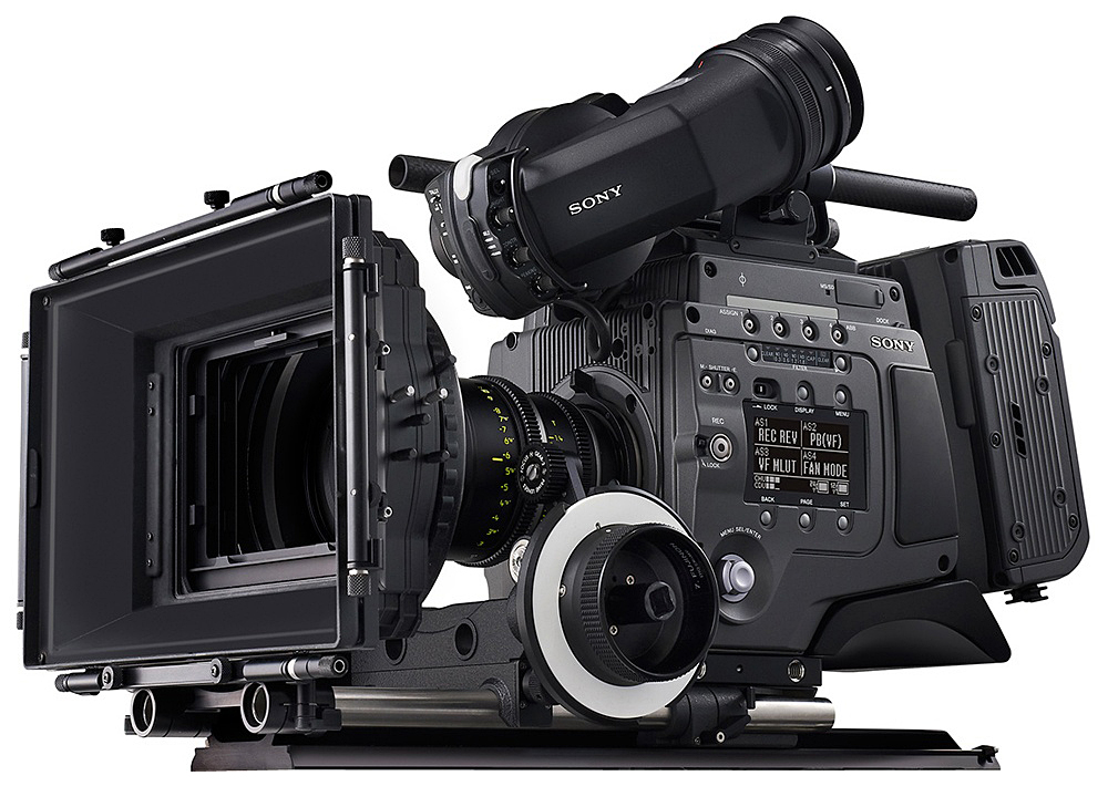 The Sony CineAlta F65 camera.