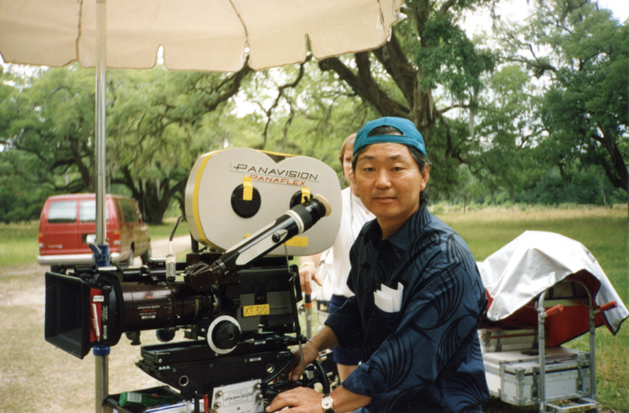 Cinematographer Hiro Narita, who would later become an ASC member.