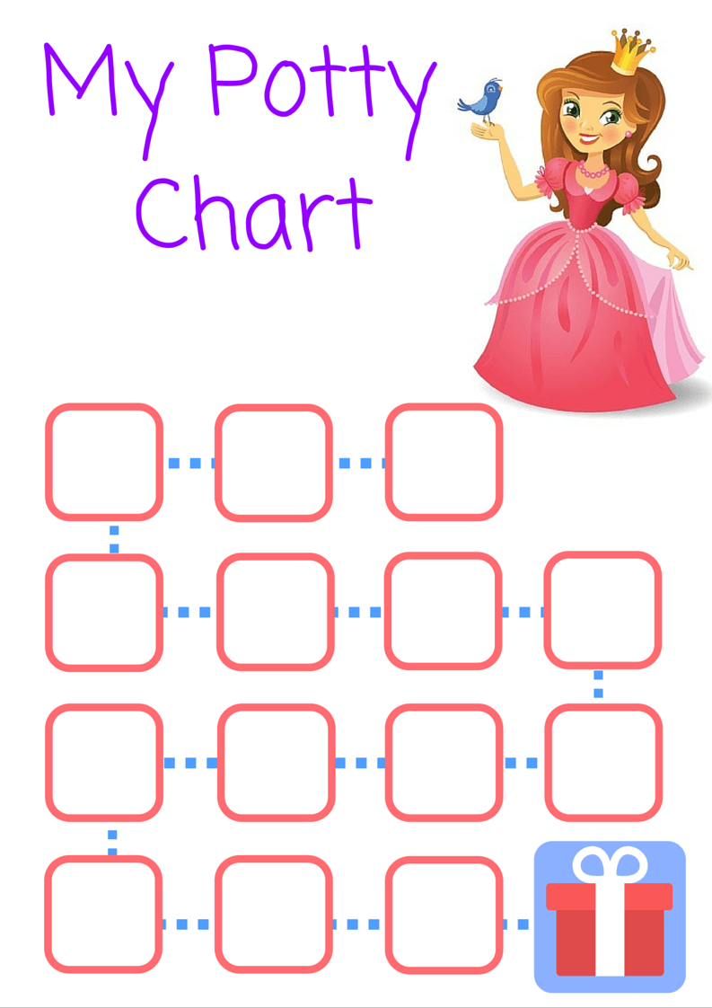 how to potty train your little one out stress potty charts and print out the princess version here a4 size