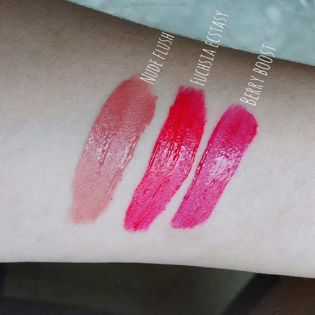 Maybelline Vivid Matte Liquid Lipstick Swatches