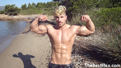 Blonde Beach Hunk