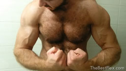 Naked Hairy Muscle God