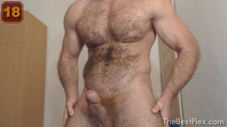 Naked Hairy Muscle God 2