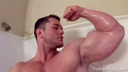 Biceps in the Shower