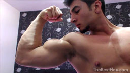Young Hunk Flexing