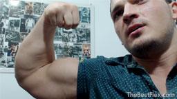 Huge Biceps Tight Shirt