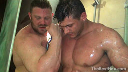 Muscle Worship Shower