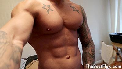 Muscle Model Tease