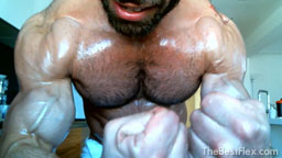 Oil My Hairy Muscles