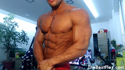 Shredded Young Hunk