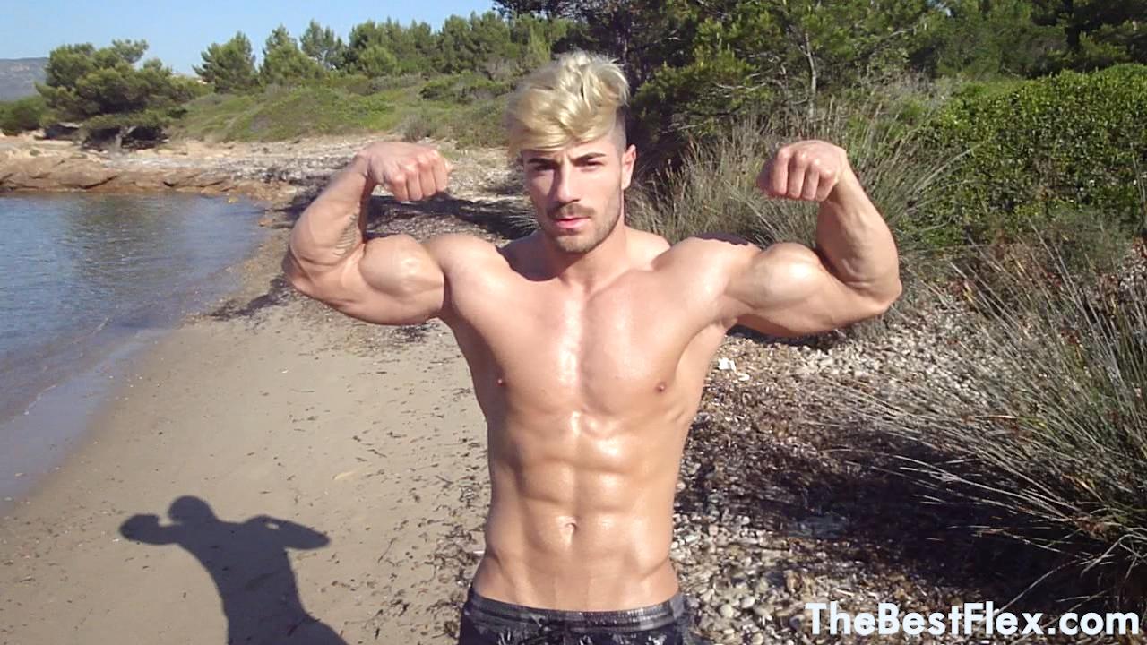 Blonde Beach Hunk