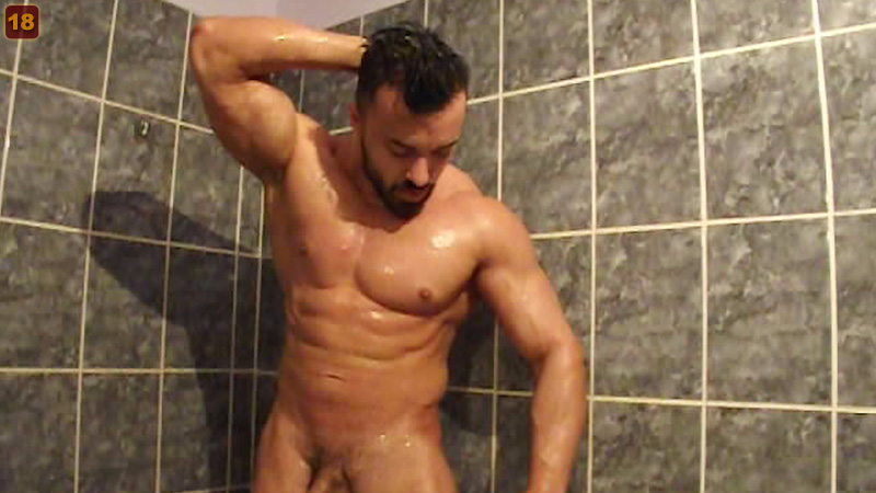 Naked Shower
