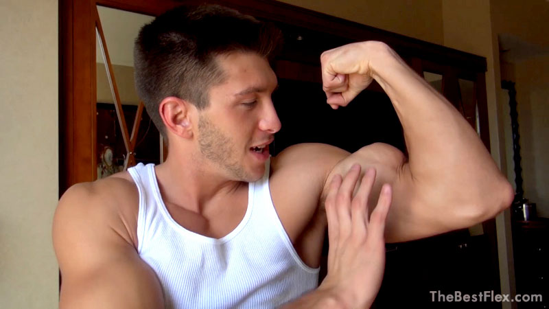 Cocky Bicep Flexing