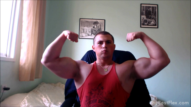 Massive Teen Biceps