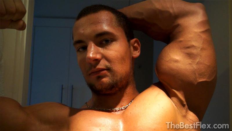 Bicep Muscle Worship