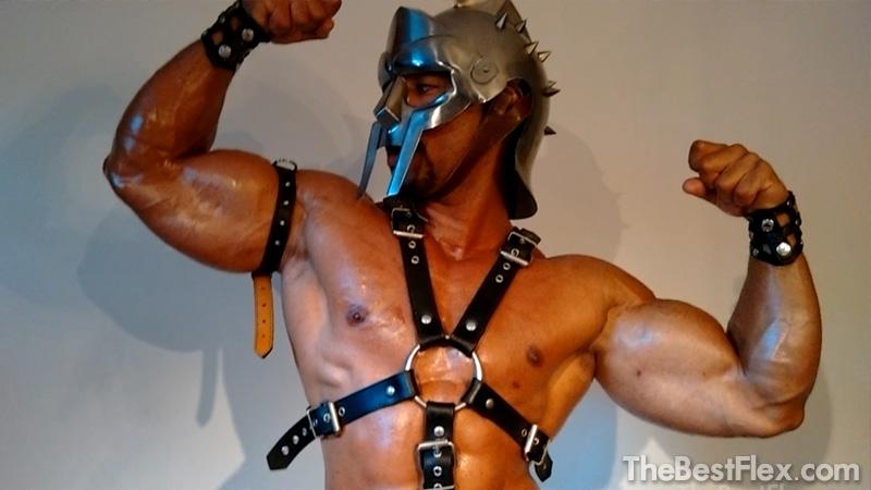 Gladiator Flexing