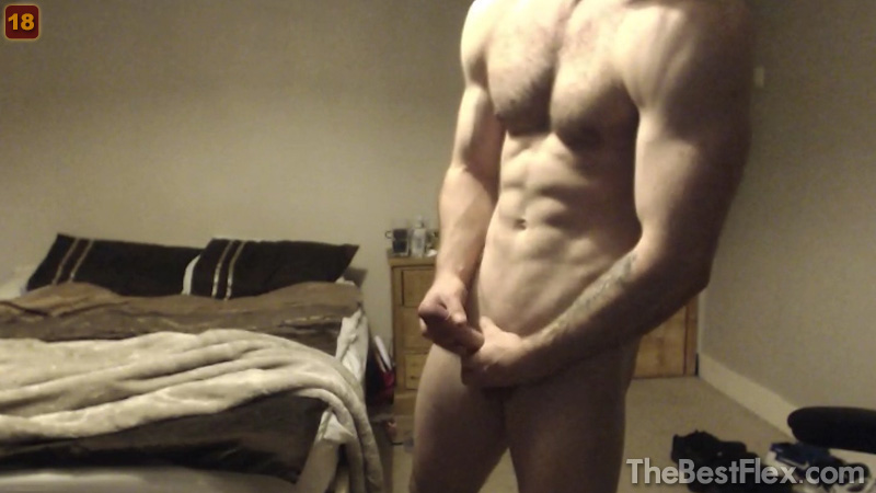 Hairy Pecs Big Dick