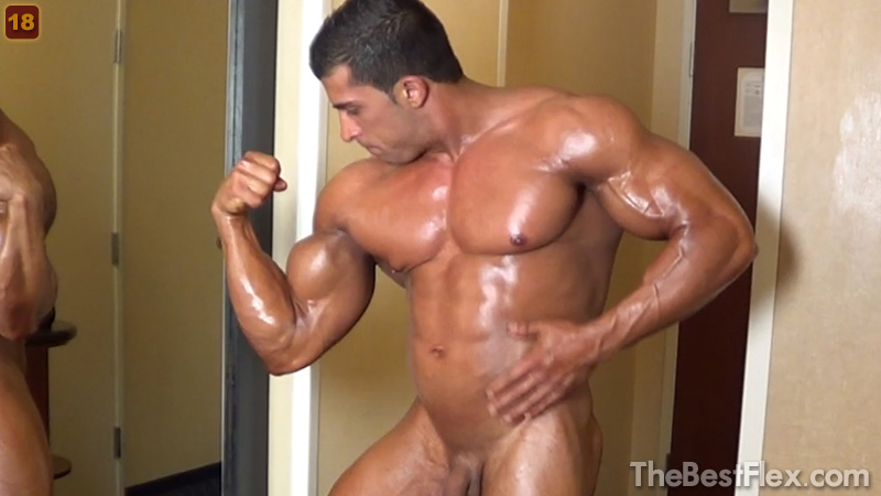 Muscle Worship After Contest