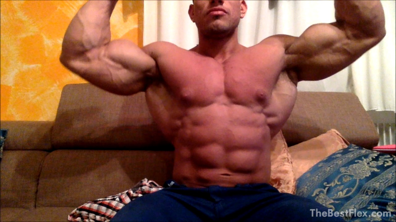 Muscle God Flexing