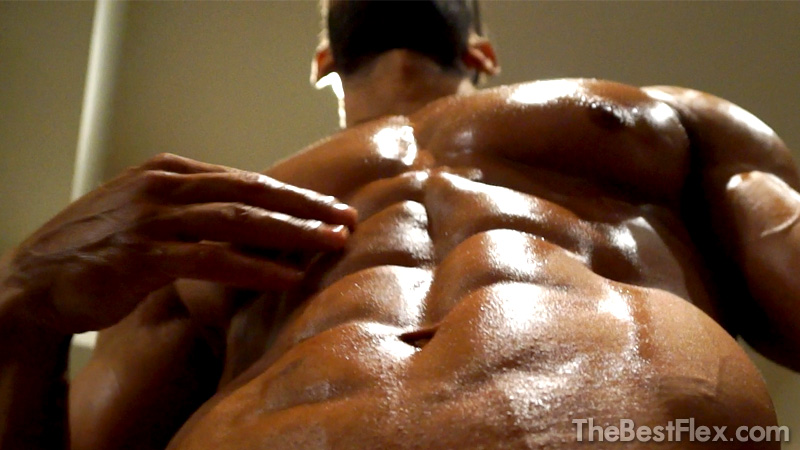 Shredded Oiled Muscle God