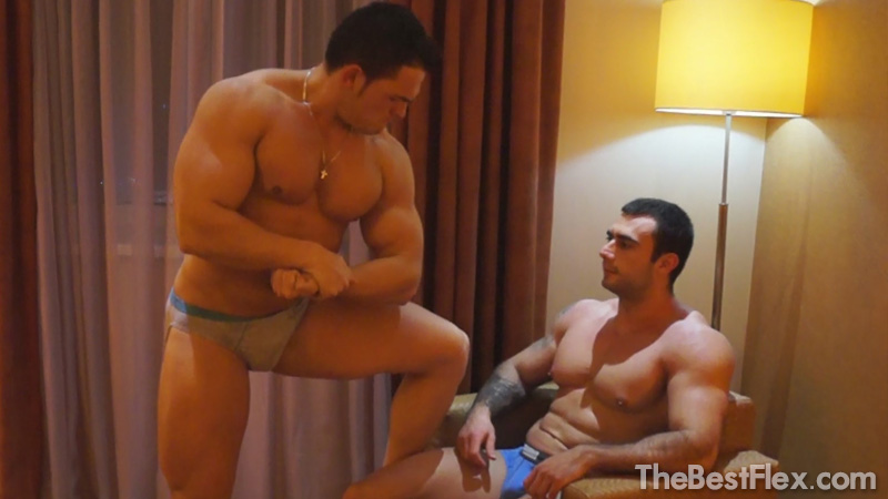 Muscle Gods Wrestling