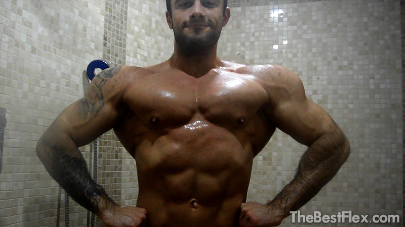 Muscle Hunk Shower