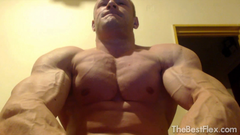 Muscle God Close Up