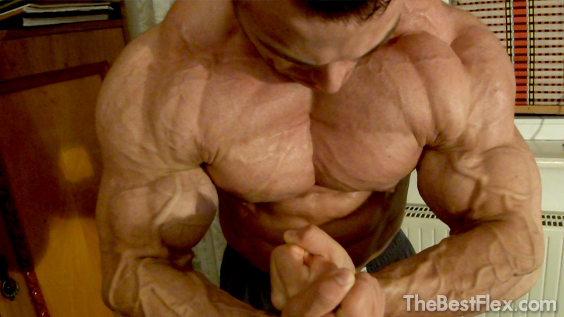 Ripped Young Bodybuilder