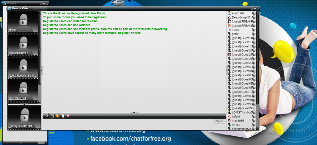 Chat rooms reviews