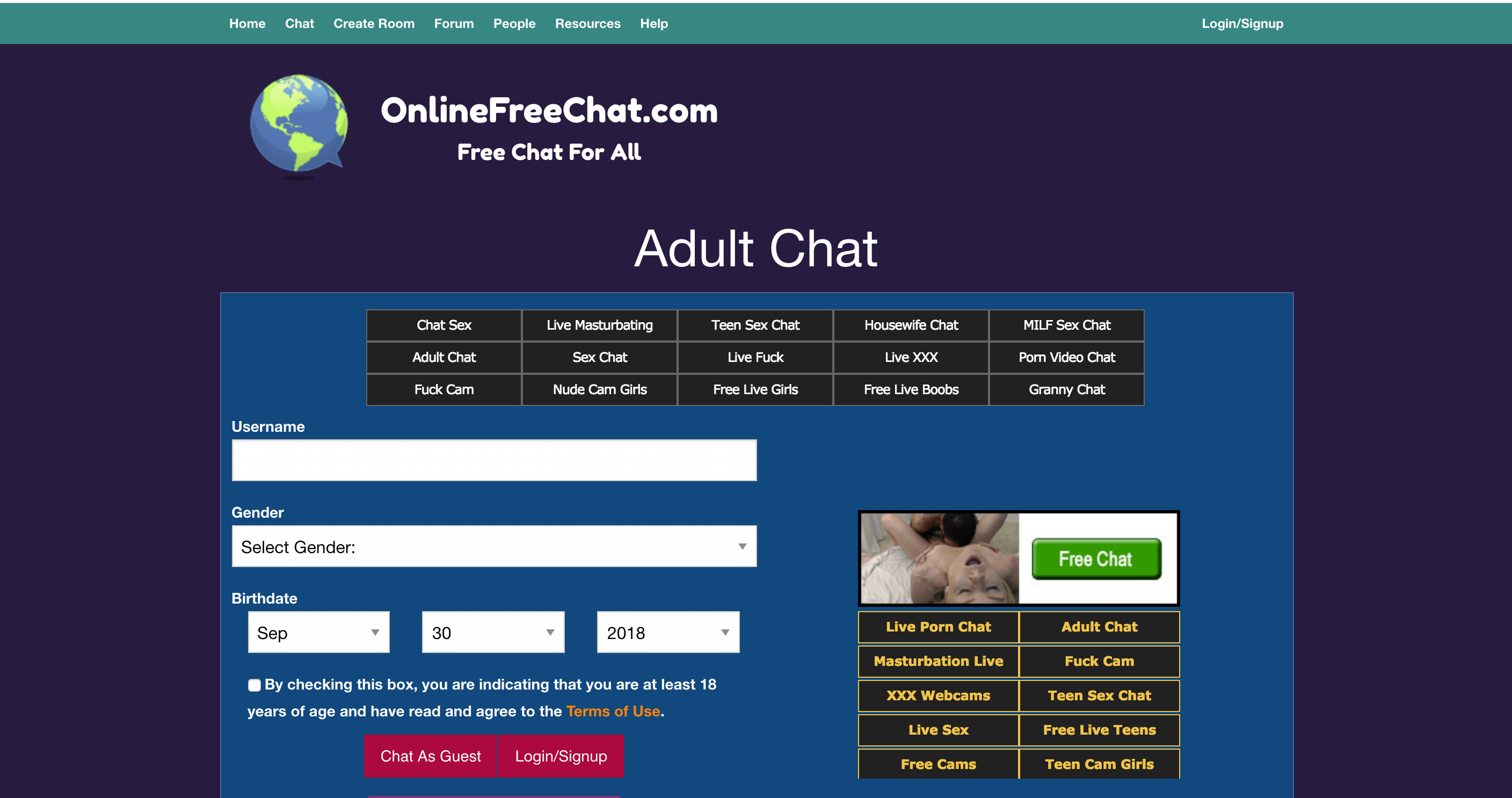 Fetish chat rooms free