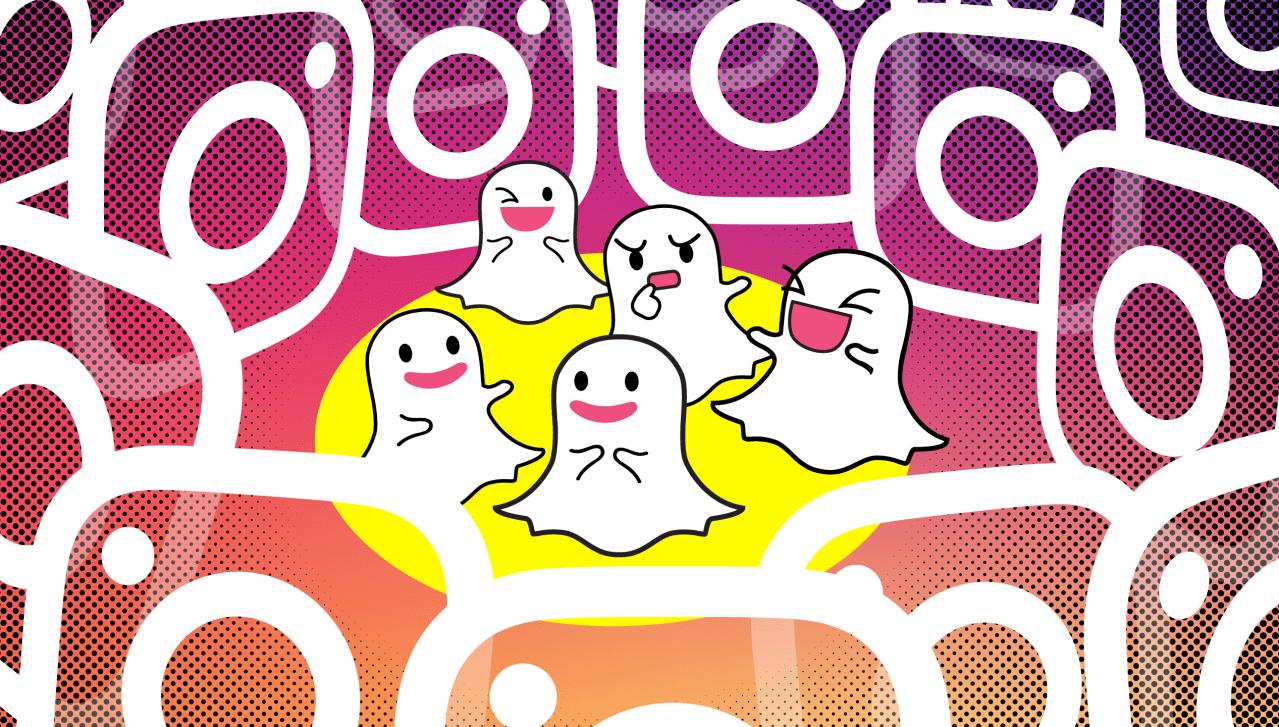 snapchat-versus-instagram