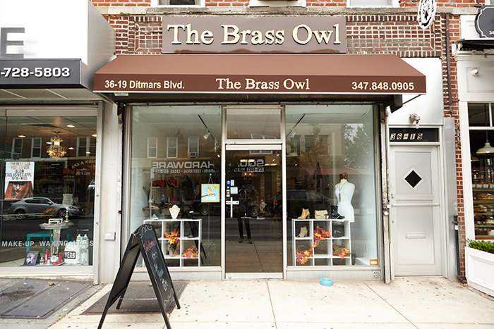 The Brass Owl