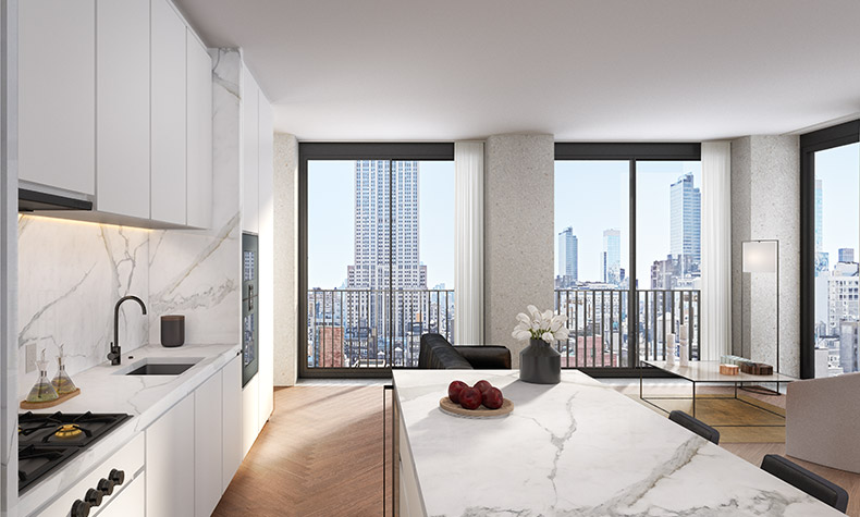 Luxury Midtown Condos: The Bryant