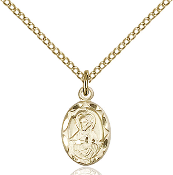 14kt gold filled scapular pendant the catholic shop