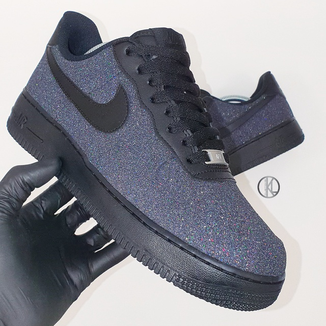 nike air force glitter