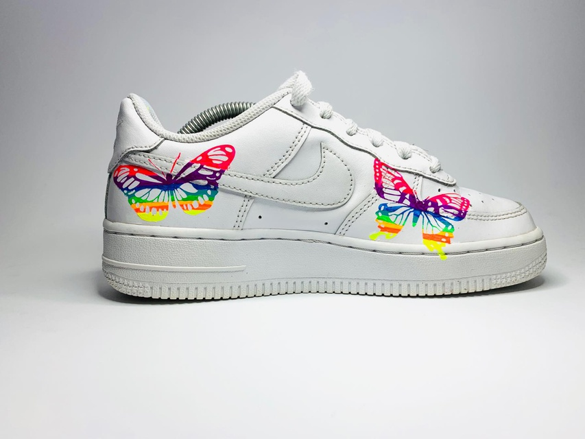 Nike Air Force 1 Blue Blossom Custom | THE CUSTOM MOVEMENT