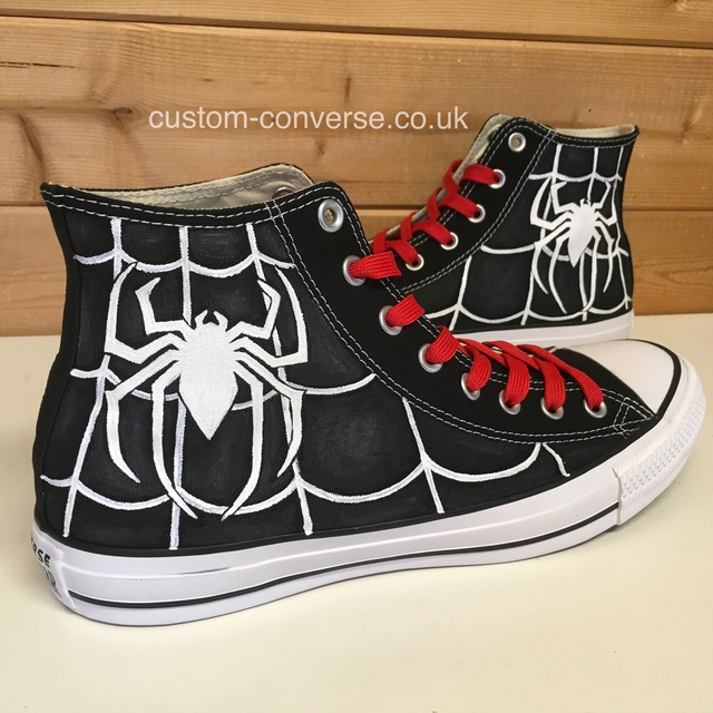 Spider Man High Top Converse